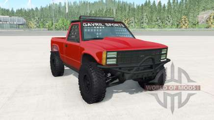 Gavril D-Series off-road v1.7 for BeamNG Drive