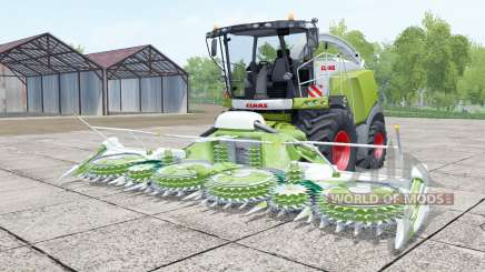 Claas Jaguar 980 android green for Farming Simulator 2017