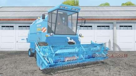 Bizon Rekord Z058 with header for Farming Simulator 2015