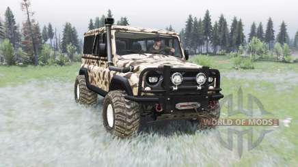 UAZ-3153 Trophy for Spin Tires