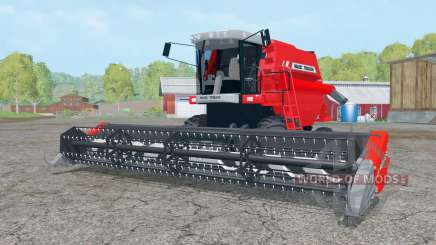 Massey Ferguson 34 with headers for Farming Simulator 2015