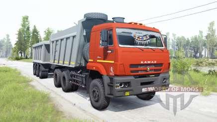 KamAZ-6522 for MudRunner