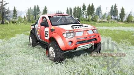 Mitsubishi L200 Triton Dakar for MudRunner