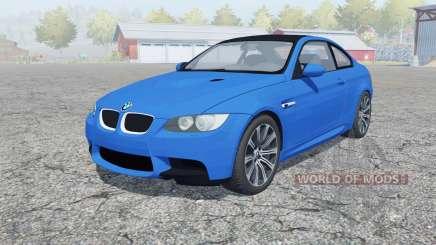 BMW M3 coupe (E92) 2010 for Farming Simulator 2013