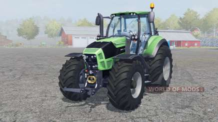 Deutz-Fahr Agrotron 7250 TTV front loader for Farming Simulator 2013