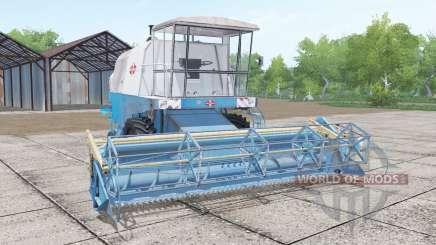 Fortschritt E 512 with headers for Farming Simulator 2017