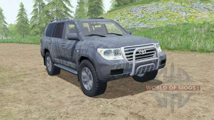 Toyota Land Cruiser 200 2007 for Farming Simulator 2017
