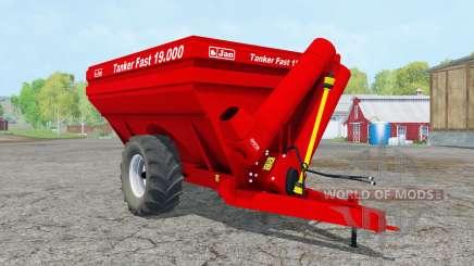 Jan Tanker Fasƫ 19.000 for Farming Simulator 2015
