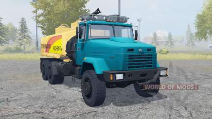 The KrAZ-6322 truck for Farming Simulator 2013