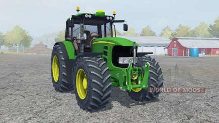 John Deere 7530 Premium moving elements for Farming Simulator 2013