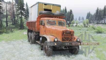 KrAZ-256Б for Spin Tires