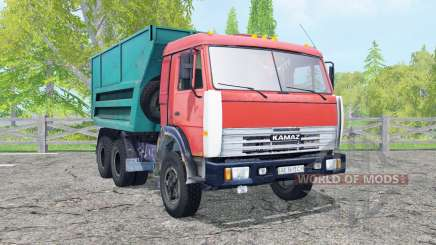 KamAZ-55111 movable elements for Farming Simulator 2015