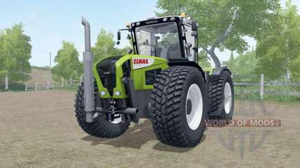 Claas Xerion 3000 Trac VC wheels selection for Farming Simulator 2017