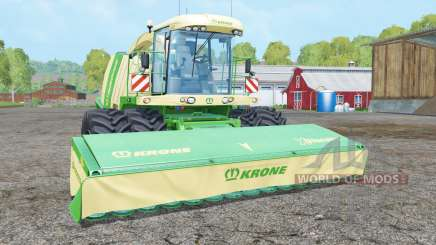 Krone BiG X 1100 dual front wheelʂ for Farming Simulator 2015