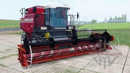Palesse GS12 with header ITS for Farming Simulator 2017