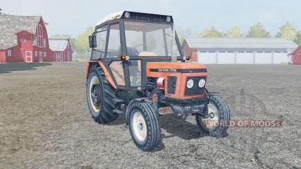 Zetor 7711 4x4 for Farming Simulator 2013