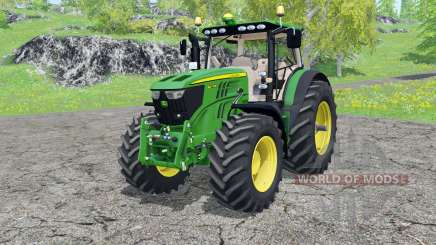 John Deere 6210R FL console for Farming Simulator 2015