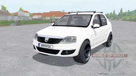 Dacia Logan 1.6 MPI 2008 for Farming Simulator 2017