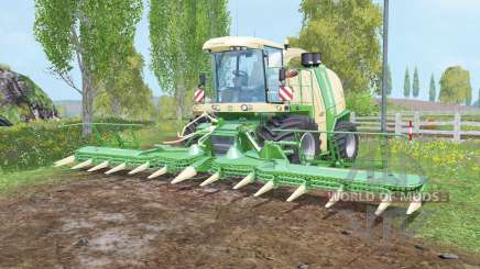 Krone BiG X 1100 silage tank for Farming Simulator 2015