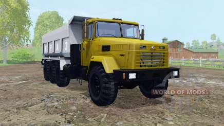 KrAZ-7140С6 movable elements for Farming Simulator 2015