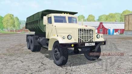 KrAZ-256Б1 animated elements for Farming Simulator 2015
