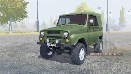 UAZ-469 manual ignition for Farming Simulator 2013