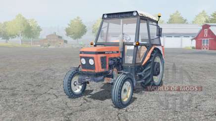 Zetor 7711 manual ignition for Farming Simulator 2013