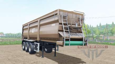 Krampe Sattel-Bandit 30-60 pale taupe for Farming Simulator 2017