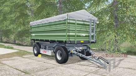 Fliegl DK 180-88 may green for Farming Simulator 2017