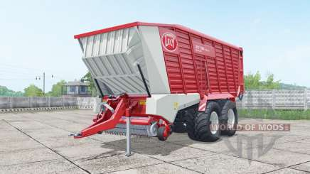 Lely Tigo XR 75 D wheels selection for Farming Simulator 2017