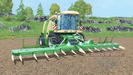 Krone BiG X 1100 new display for Farming Simulator 2015