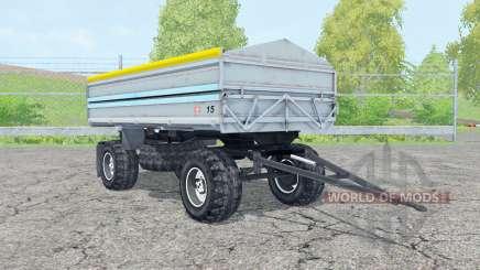 Fortschritt HW 80 pastel blue for Farming Simulator 2015