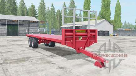 Marshall BC-32 sizzling red for Farming Simulator 2017
