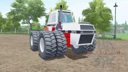 J.I. Case 2870 Traction King for Farming Simulator 2017