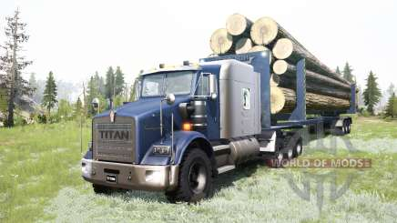 Kenworth T800 8x8 for MudRunner