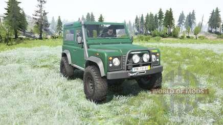 Land Rover Defender 90 Station Wagon 2000 for MudRunner