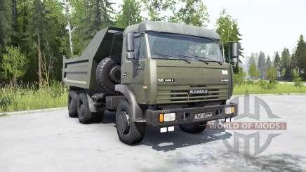 KamAZ-55111 2002 for MudRunner