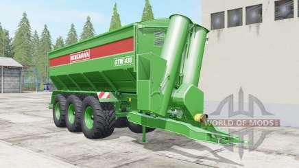 Bergmann GTW 430 multifruit for Farming Simulator 2017