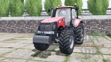 Case IH Magnum 315 CVX imperial red for Farming Simulator 2017