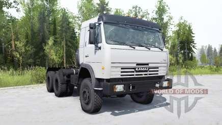 KamAZ-54115 for MudRunner