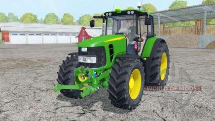 John Deere 7430 Premium front loader for Farming Simulator 2015