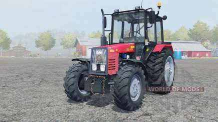 MTZ-Belarus 820.4 manual ignition for Farming Simulator 2013