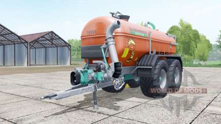 Zunhammer SKE 18500 PU brown for Farming Simulator 2017