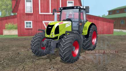 Claas Arion 620 animation doors for Farming Simulator 2015