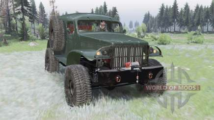 Dodge WC-53 Carryall (T214) 1942 for Spin Tires