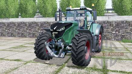 Fendt 1042 Vario green cyan for Farming Simulator 2017