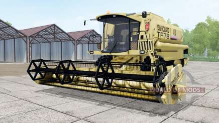 New Holland TF78 with header for Farming Simulator 2017