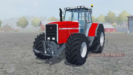 Massey Ferguson 8140 added wheels for Farming Simulator 2013