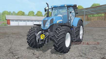 New Holland T7.210 animated element for Farming Simulator 2015