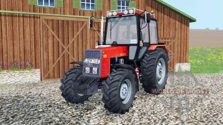 MTZ-892 Belarus movable elements for Farming Simulator 2015